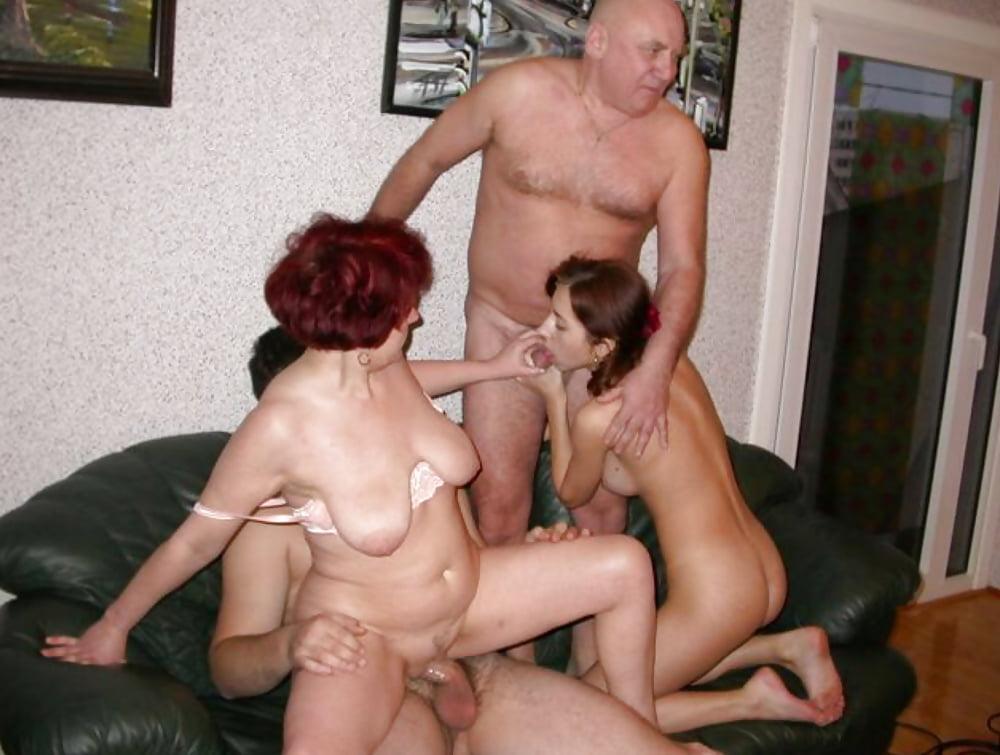 Групповое Порно Домашние Старик