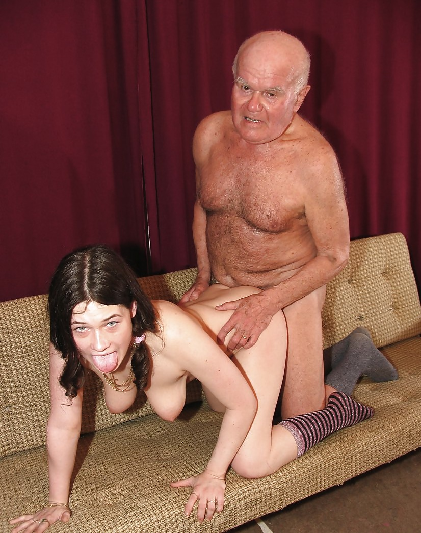 Порно Дедушка Целка