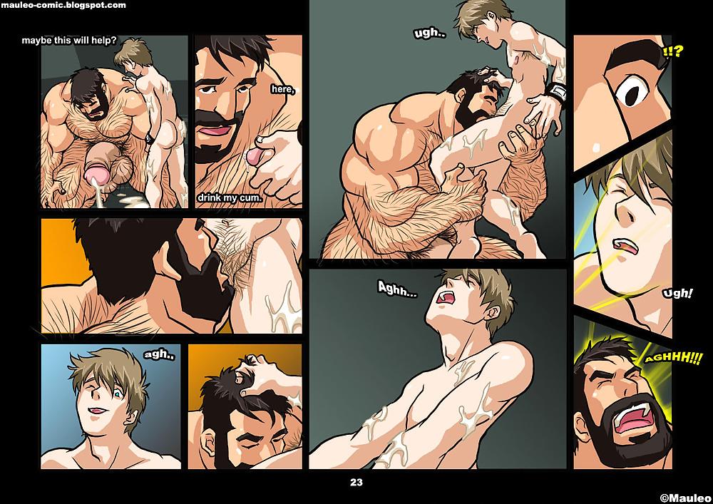 Порно Гей Комиксы Мультики Комиксы На Английском
