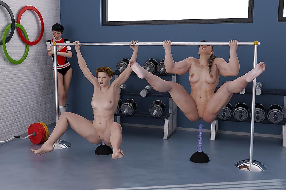 Порно Обнаженный Спорт