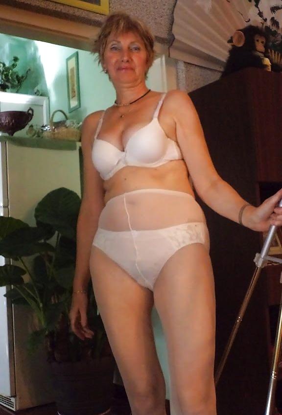 Mature ladies wearing pantyhose