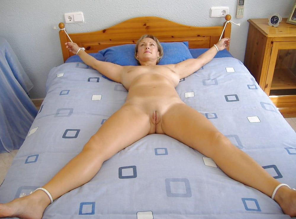 Naked girl tied to bed and fucked, beauties anal sluts porn