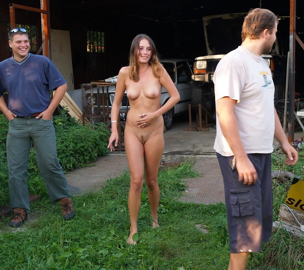 Embarrassing naked flashing porn