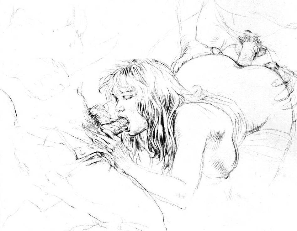 Erotic illustrations for you to revel in your darkest desires