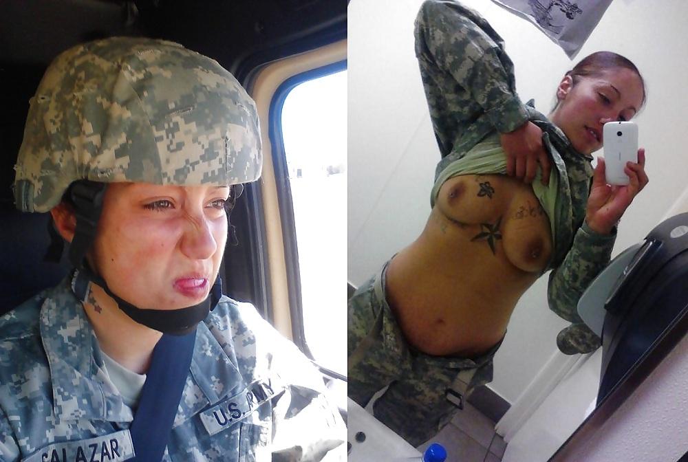 Naked army sluts