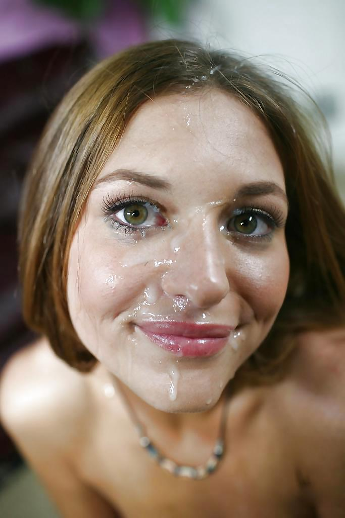 Get bukkake frosted face porn for free