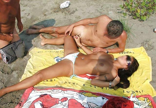 Voyeur Amateur Beach Sex