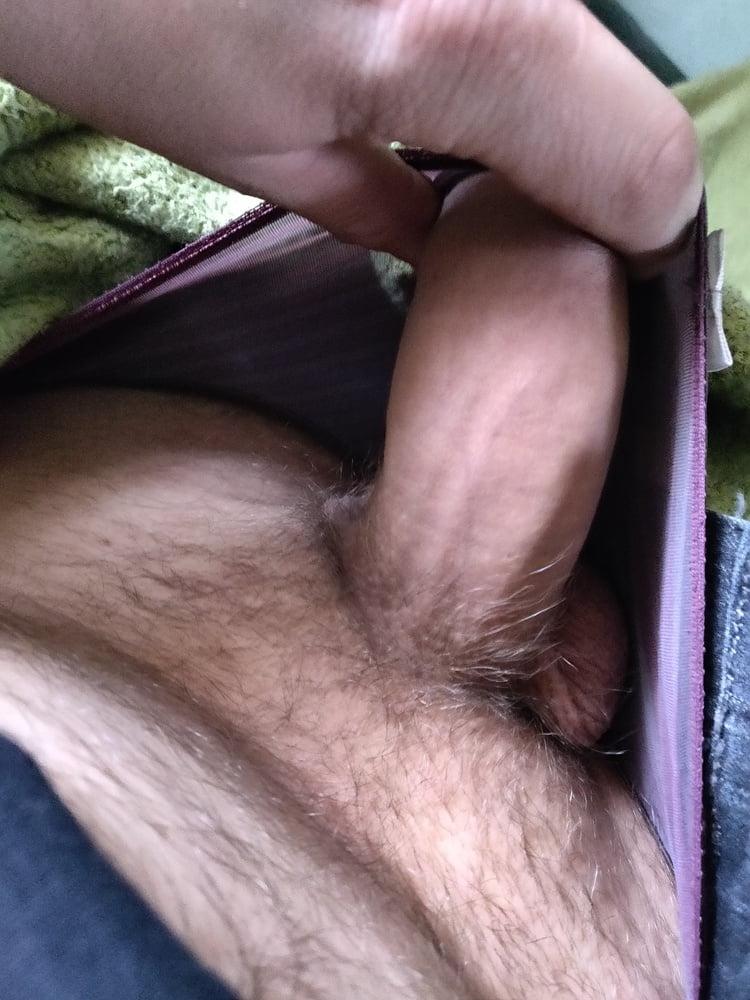 Masturbating on panties