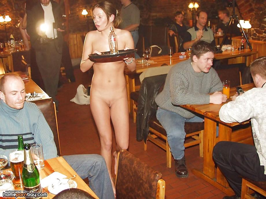порно пивном баре