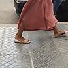 Arabic teen ass & sexy sandals