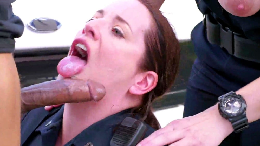 Gay black cop porn