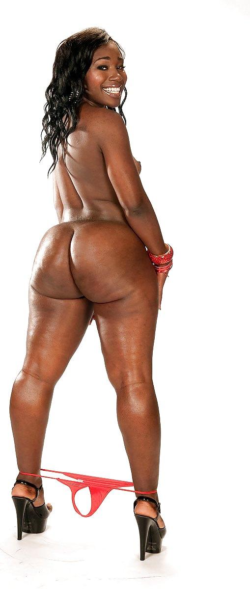 Oiled Black Women