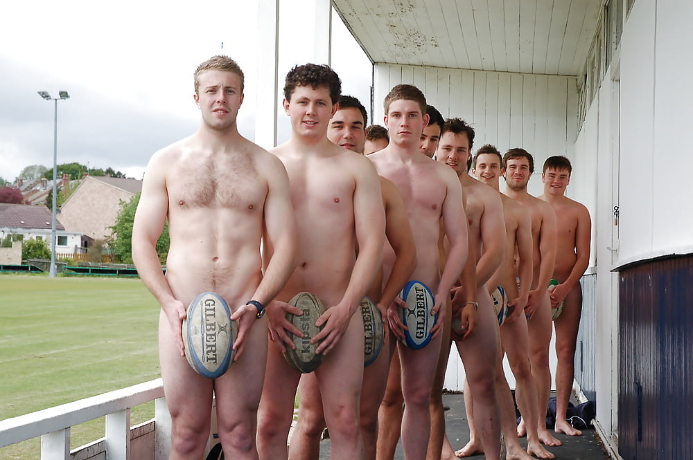 Nude rugby back