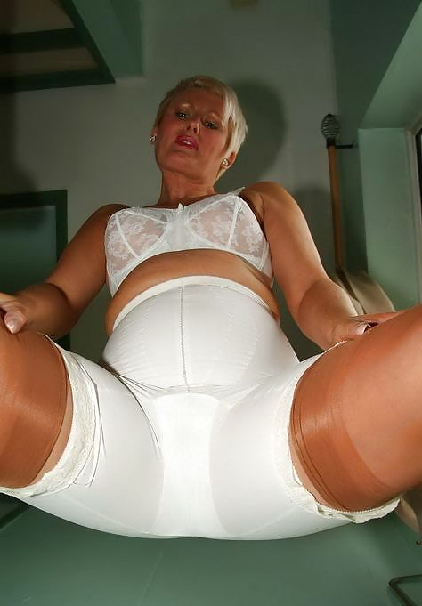 Girdles on mature women