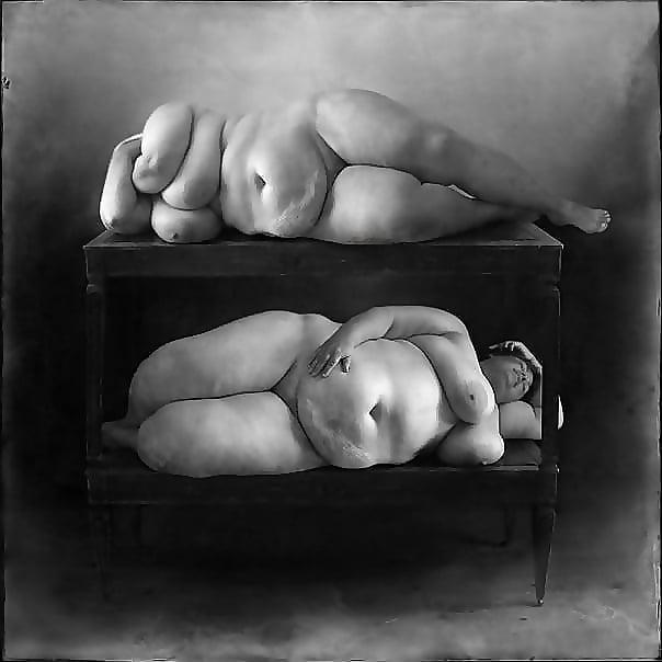 Nude fat art