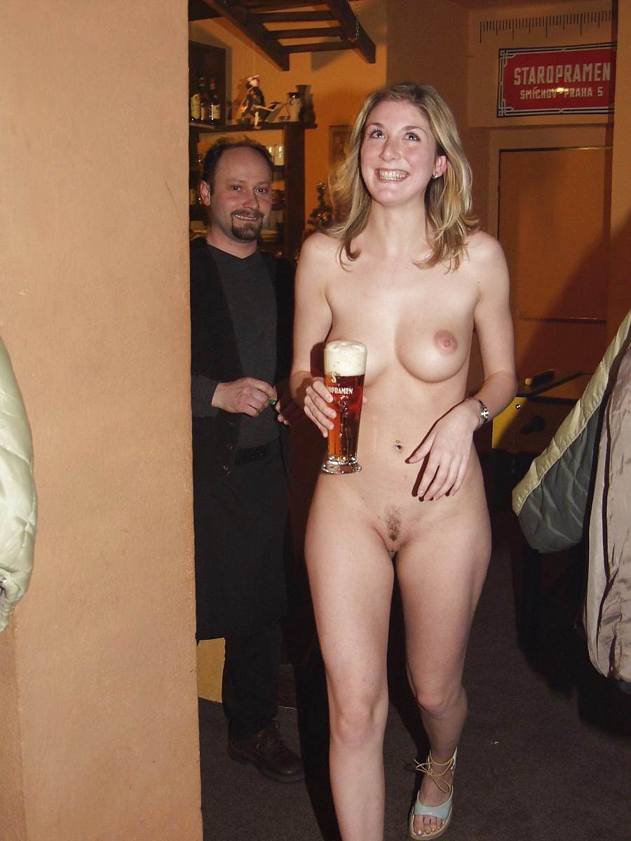 Naked wife with husband