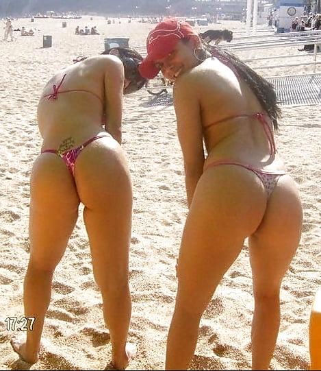 Big brazilian booty orgy