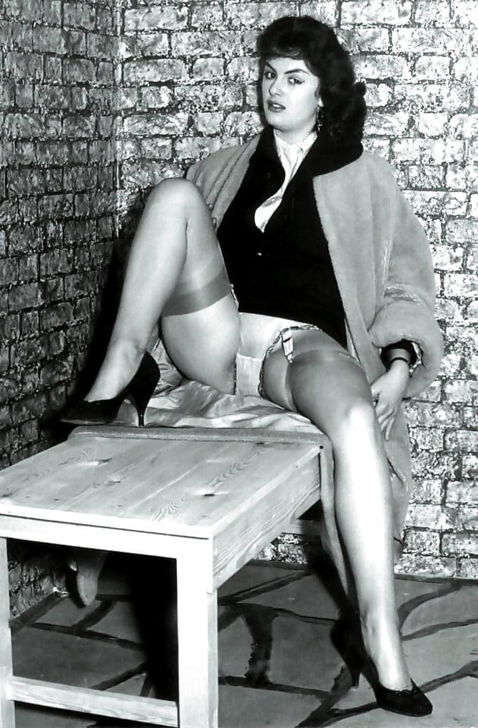 Accidental Upskirts Vintage Nylon Stocking