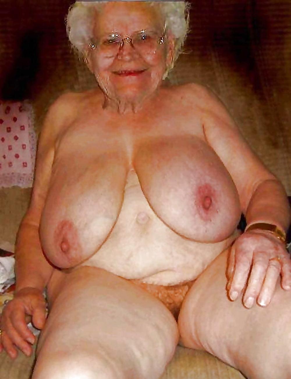 голые старушки иже большими сиськами - 8