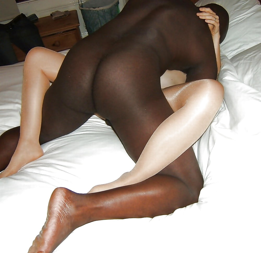 Interracial pantyhose