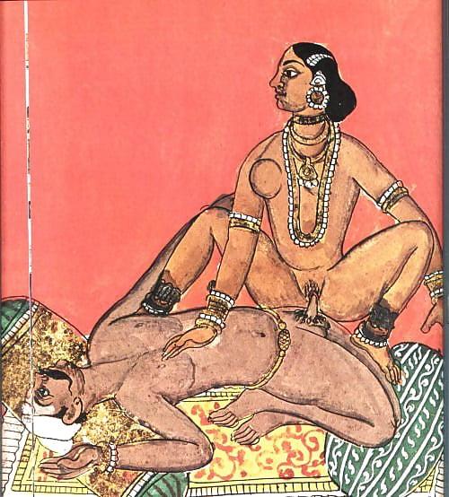 Индия гравюры порно, делает только минет