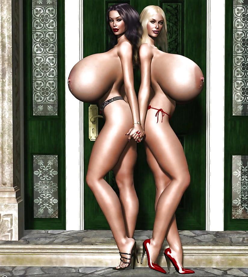Porn big breasts in mulatos