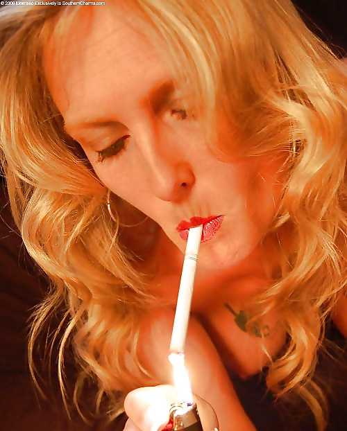 Pics of mature women smoking cigarettes