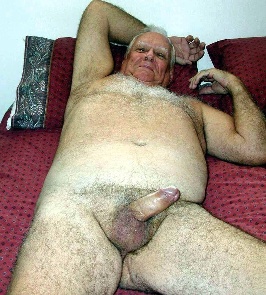 Gay grandpa nude