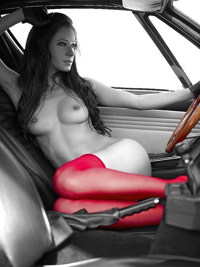 Mature Car Nudity