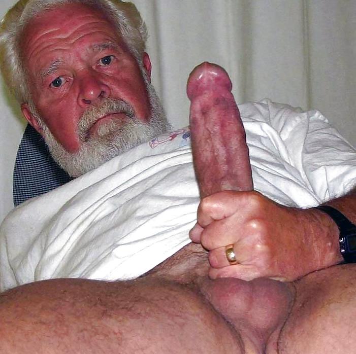 Very Old Gay Grandpa Penis