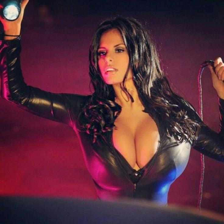 Hot girl stripping show big busty boobs