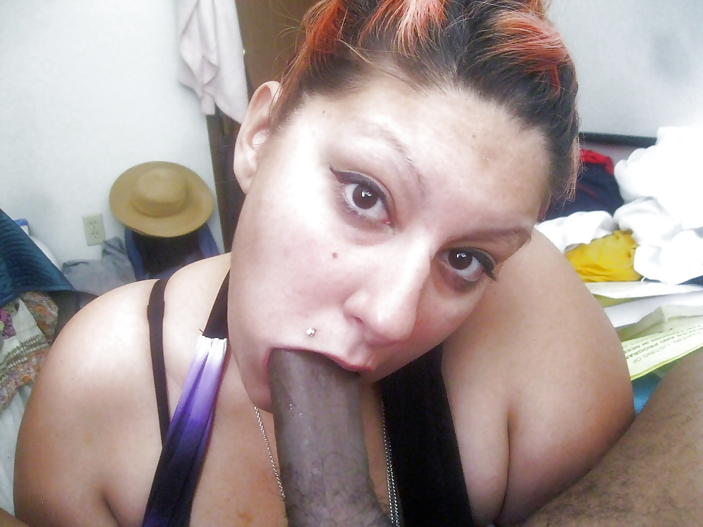 Thick Latina Sucking Dick