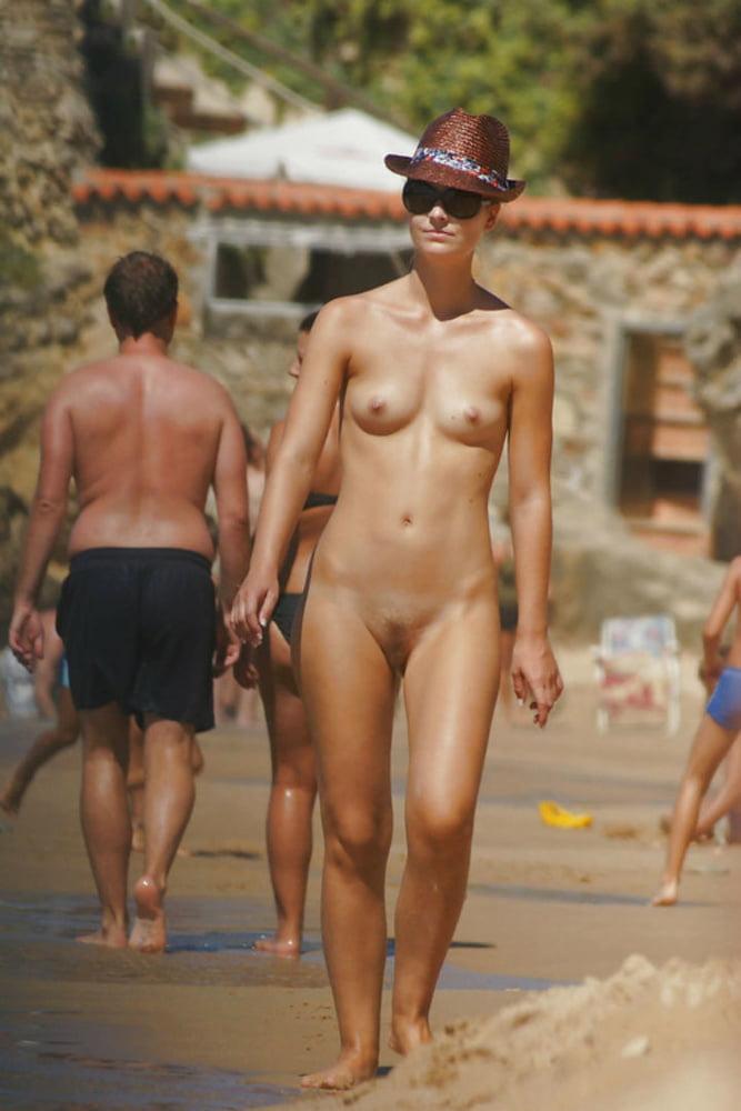 Beach contest exhibitionist voyeur