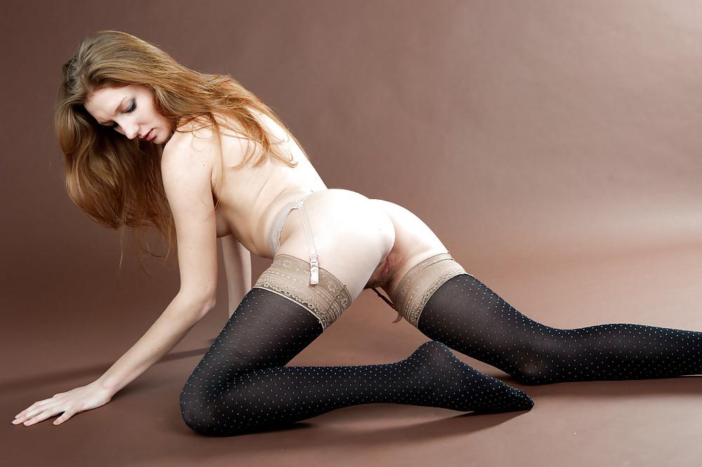 Stocking porn sexy girls in nylon stockings pics