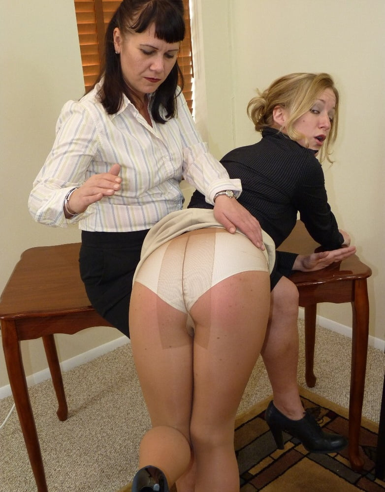 Big first proper spanking pantyhose tights gomez tied and