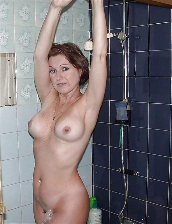 Inside jessica my naked mom in shower