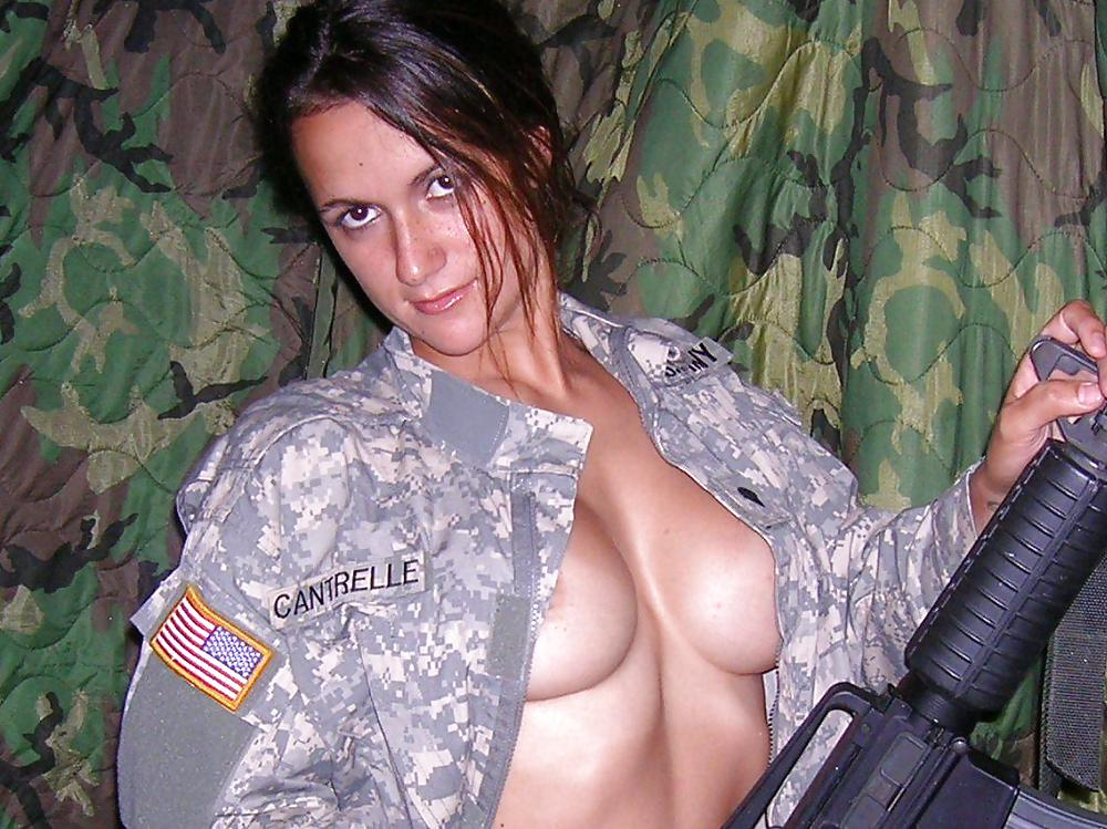 Military service women nude — photo 8