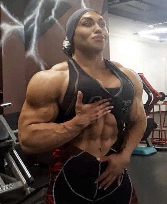 Sexy FBB Muscle - 206 Pics
