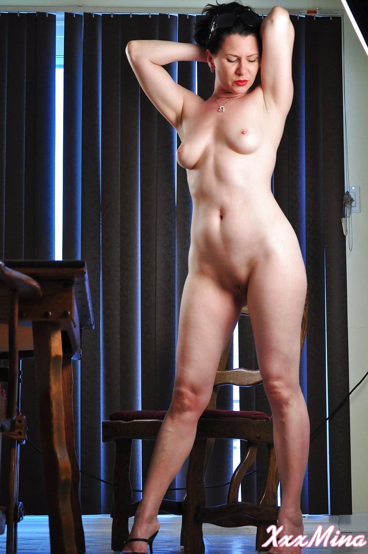 Naked tall female