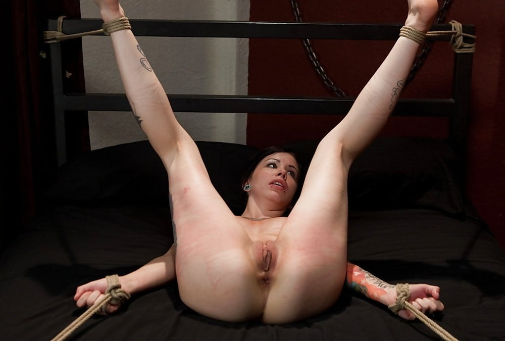 Naughty Tinkerbell Has Bondage Pussy And Ass Fuck By Toys Before Anal Sex And Cumshot
