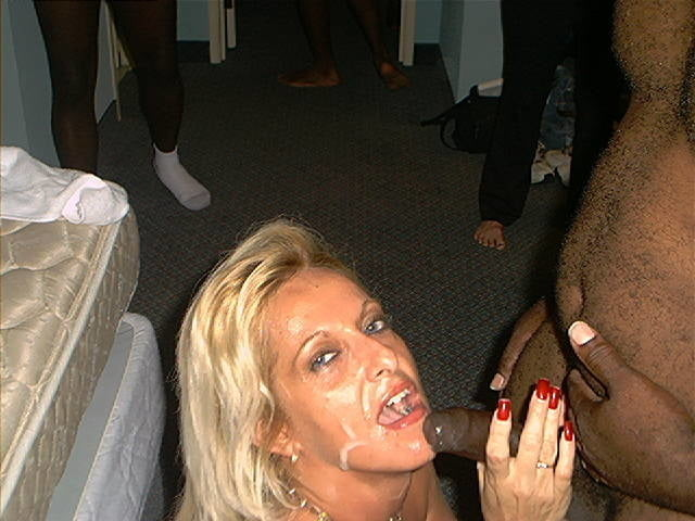Group sex black guys and a white Woman