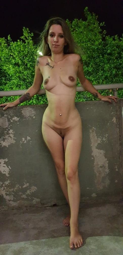 Tattooed slut with small tits - 145 Pics