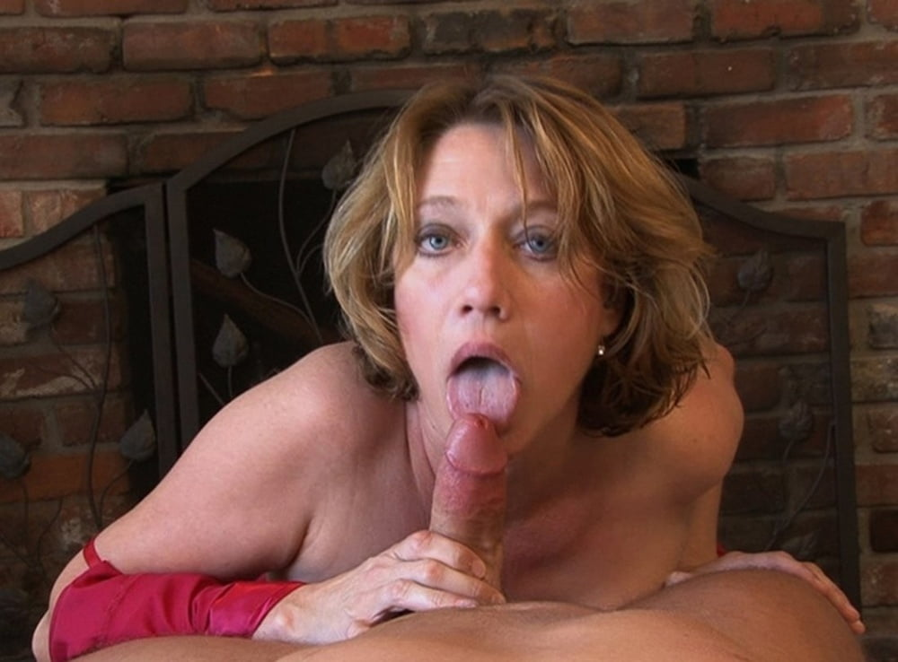 Mother Gives Son Blow Job