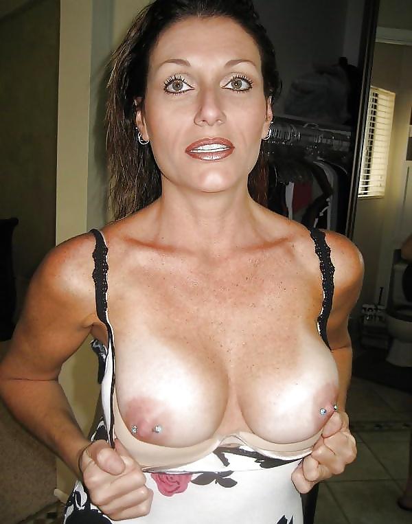 Milf pierced nipples gallery #3