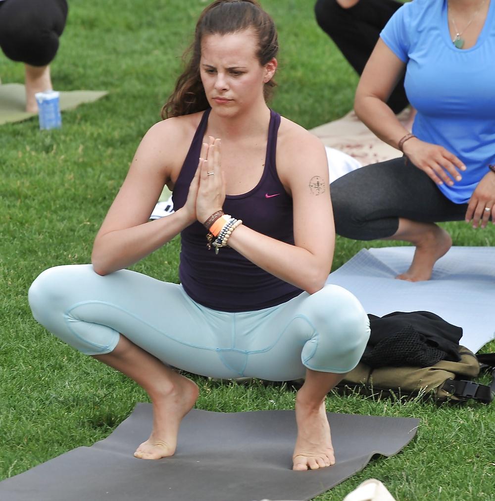 Oops pussy slip yoga