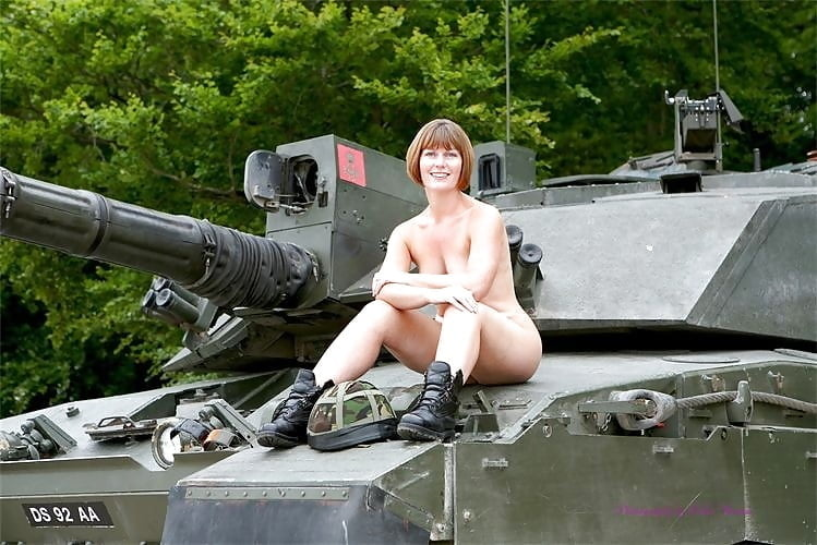 Females in the military nude galleries