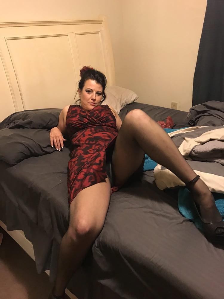 Granny horny in evening