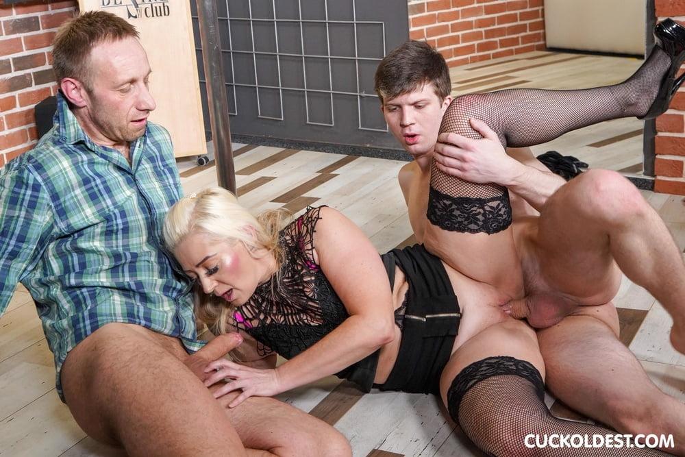 Cuckolding his wife