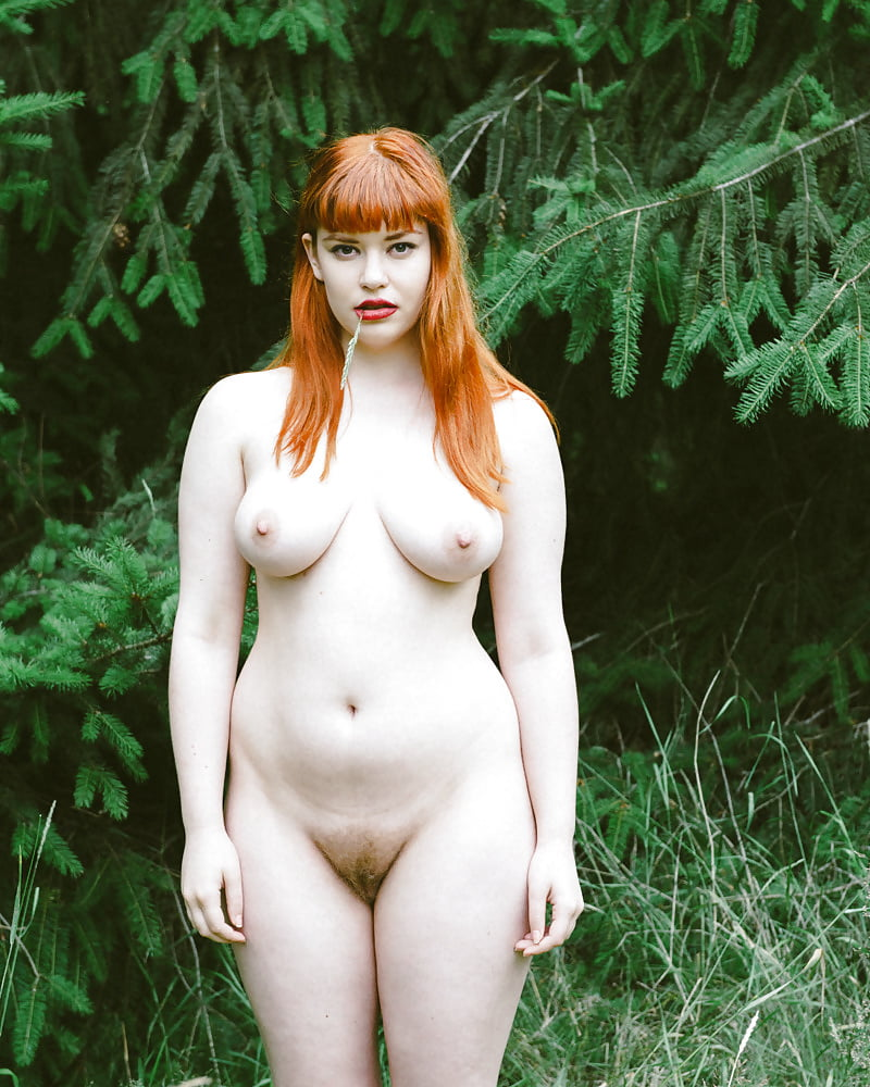 hairy-redhead-outdoors