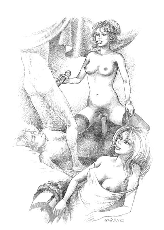 Любительские рисунки секс #2